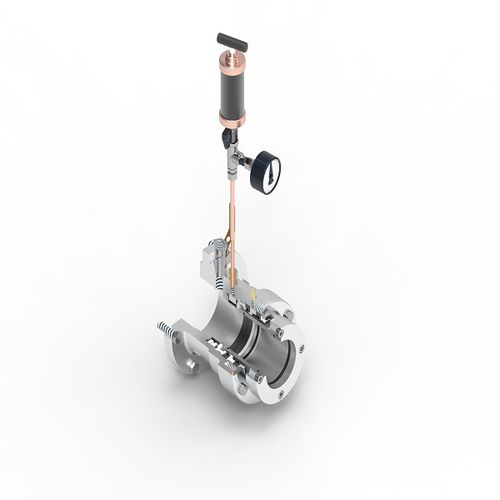 acoplamiento mecánico para eje de hélice / de buque
