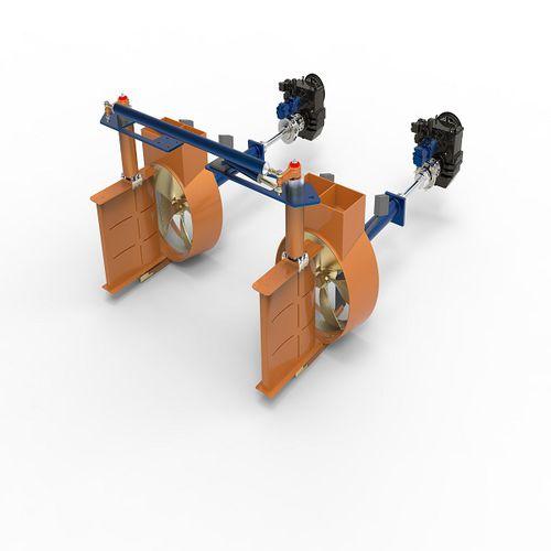 sistema de propulsión para buque / a medida