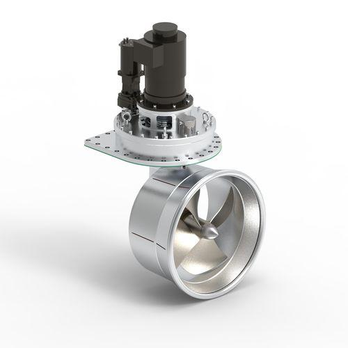 propulsor acimutal / para buque / eléctrico / hidráulico