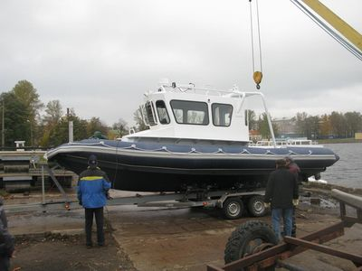barco de trabajo / diésel