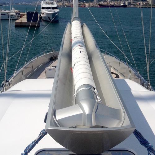 botavara para sailing-yacht / para velero / en V / enrollador