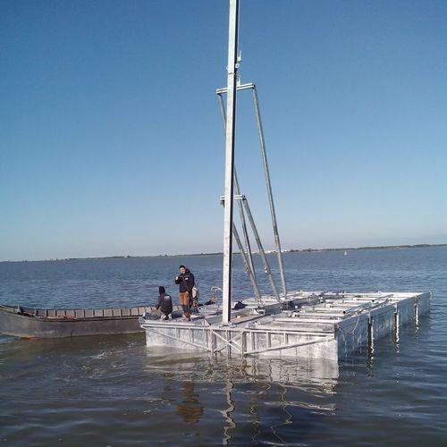 plataforma flotante / para puerto deportivo / para centro de ocio / para eventos