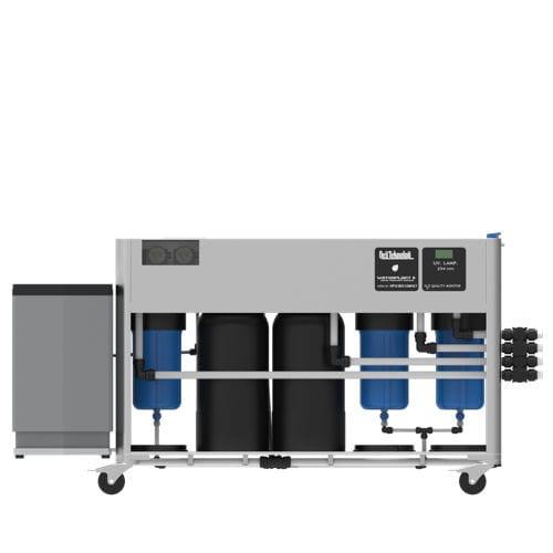 sistema de tratamiento agua potable / para yate / para barco / con filtro de carbón activado