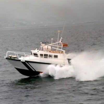 buque especial de vigilancia / de alta velocidad