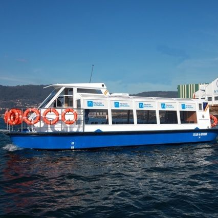 barco de pasajeros / eléctrico / de aluminio