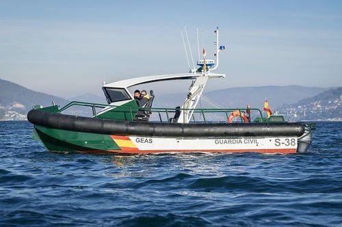 barco de vigilancia / fueraborda / de aluminio / bote