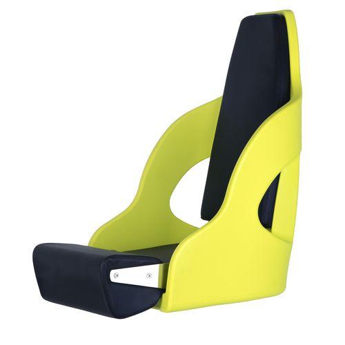 asiento piloto / para barco / respaldo alto / 1 plaza