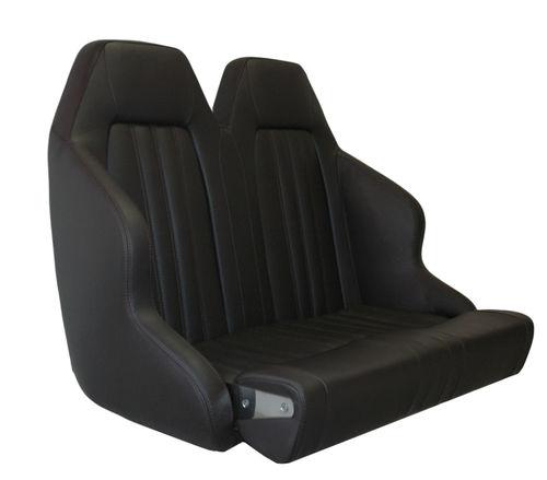 asiento piloto / para barco / respaldo alto / 2 plazas