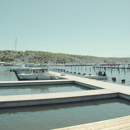 pantalán flotante / de amarra / para puerto deportivo / de barco