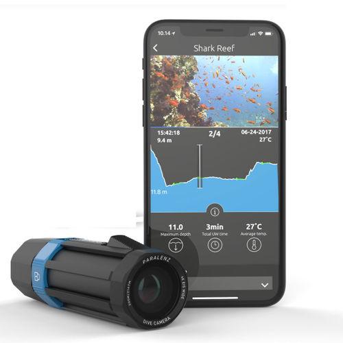 software para cámara de vídeo / de seguimiento / de buceo / submarino