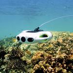 drone marino subacuático para fotografía