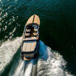 barco cabinado intraborda / eléctrico / bimotor / open