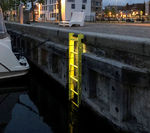 escalera para puerto / para puerto deportivo / fija / de seguridad