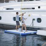 plataforma para yate / de baño / inflable / de embarque