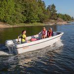 bote fueraborda / open / de pesca deportiva / 5 personas máx.