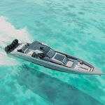 barco open fueraborda / open / con consola central / de deporte