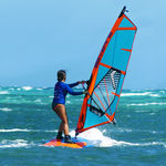 tabla de windsurf de iniciación