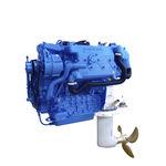 motor saildrive / recreo / para barco profesional / diésel