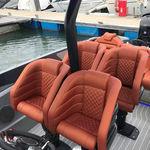 asiento piloto / para barco / con reposabrazos / eléctrico