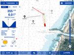 software de navegación / de previsión del tiempo / para barco / para velero
