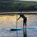 SUP longboard / de bambú / PSE