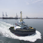barco profesional remolcador / intraborda