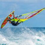 tabla de windsurf de olas