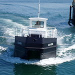 embarcación de recuperación de hidrocarburos / intraborda