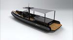 barco profesional barco de desembarco / intraborda / embarcación neumática semirrígida
