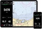 software de vigilancia / para barco / para smartphone / para motor