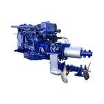 sistema de propulsión para buque / para barco / híbrido diésel-eléctrico