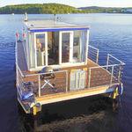 barco casa catamarán / fueraborda / 4 personas máx.