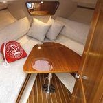 mesa para barco / plegable / de teca