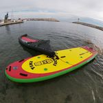 stand-up paddle-board de aguas tranquilas / windsurf / inflable