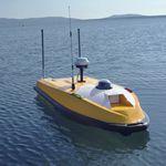 vehículo no tripulado marino para estudios hidrográficos / autónomo / teledirigido / mini trimarán
