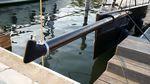 bauprés para velero / por velas de viento portante / de carbono