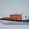barco profesional barco de búsqueda y rescate / intraborda / de aluminio