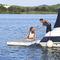 plataforma para barco / para yate / para puerto deportivo / para centro de ocio