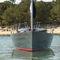 monocasco / de crucero costero / con popa abierta / con 2 camarotes