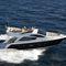 barco cabinado POD IPS / diésel / bimotor / con fly