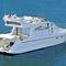 barco cabinado intraborda / diésel / con fly / 16 personas máx.