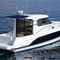 barco cabinado intraborda / diésel / bimotor / con hard-top