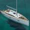 monocasco / de regata y crucero / con popa abierta / con 2 o 3 camarotes