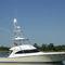 yate a motor de pesca deportiva / convertible / con fly / de material compuesto