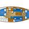 monocasco / de crucero / con popa abierta