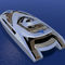 super-yate de lujo catamarán a motor / de crucero / con caseta de timón / de desplazamiento