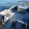 runabout hidrojet / con doble consola / de pesca deportiva