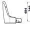 asiento piloto / envolvente / para barco / respaldo alto