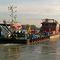 barco profesional remolcador de empuje / intraborda