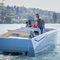 barco open embarcación auxiliar para mega-yate / intraborda / con consola central / 10 personas máx.